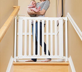 Baby Gates Amp Safety Gates For Stairs Doorways Amp More