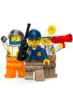 LEGO ® CITY. Everyone can be a pilot as one climbs into colourful airplanes and decide how high or low they want to blaze the skies. Fasten the seatbelts and have a safe flight!