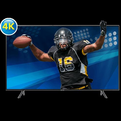 Téléviseur intelligent Tizen HDR DEL UHD 4K de 65 po de Samsung