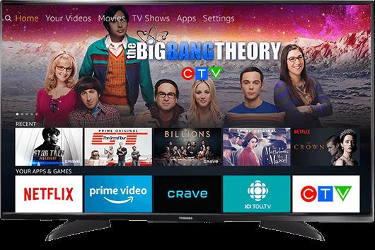 Seamless live TV integration
