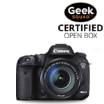 Canon Geek Squad Certified Open Box cameras