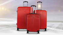 SAVE UP TO 70% on luggage