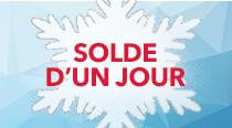 SOLDE D'UN JOUR