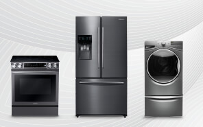 MAJOR SAVINGS on major appliances