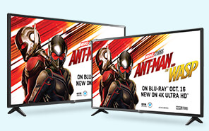 SAVE UP TO $300 on select 4K TVs