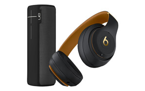 HUGE SAVINGS on select headphones and speakers