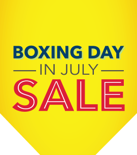 Boxing Day in July SALE