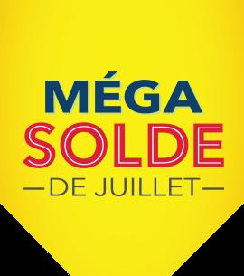 MÉGA SOLDE DE JUILLET