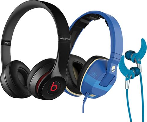 Selection of Headphones