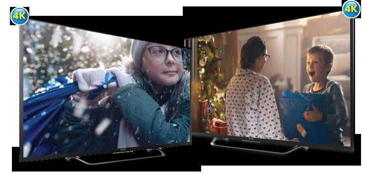 4K UHD TVs