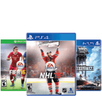 NHL 16, Fifa 16 and Star Wars Battlefront