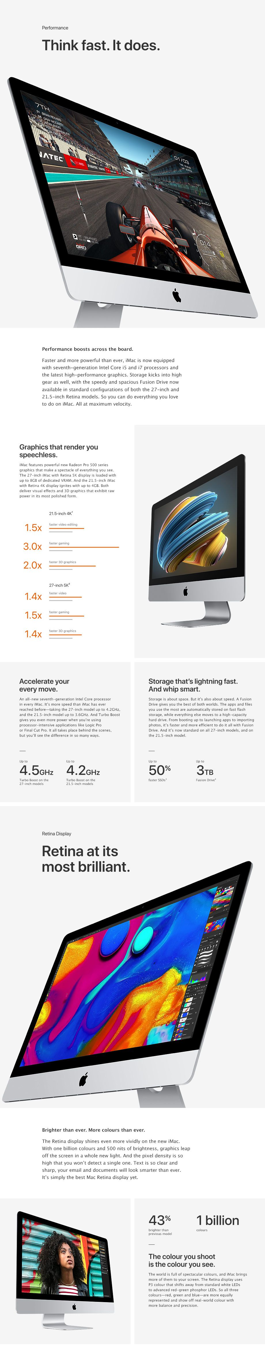 Performance, Retina Display