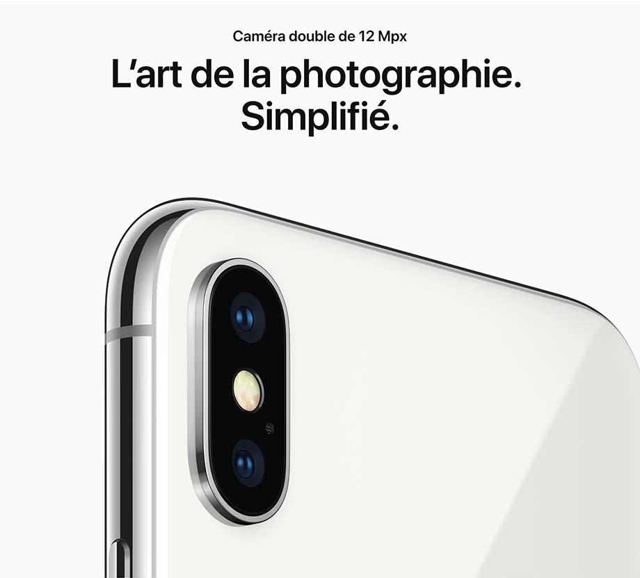 Caméra double de 12 Mpx - L'art de la photographie.  Simplifié