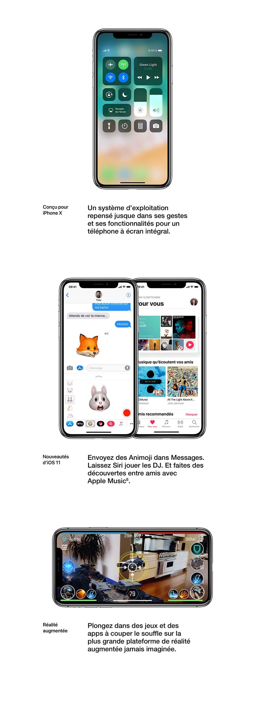 Conçu pour iPhone X, Nouveautés d'iOS 11, Réalité augmentée
