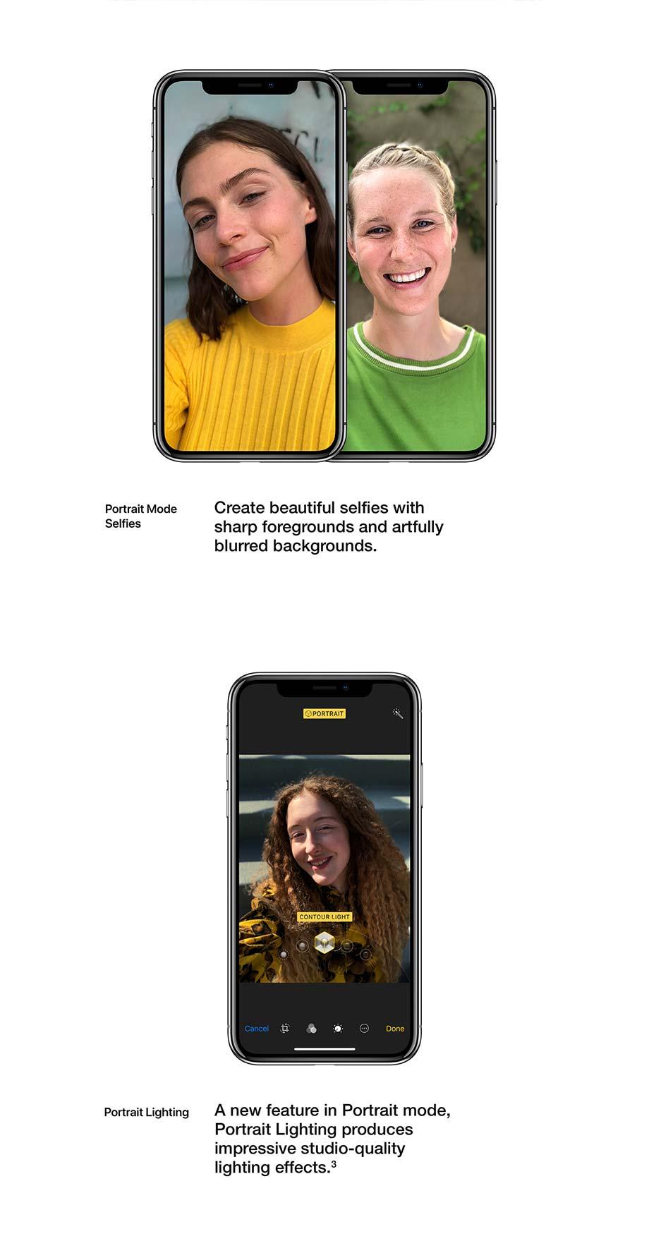Portrait Mode Selfies, Portrait Lighting
