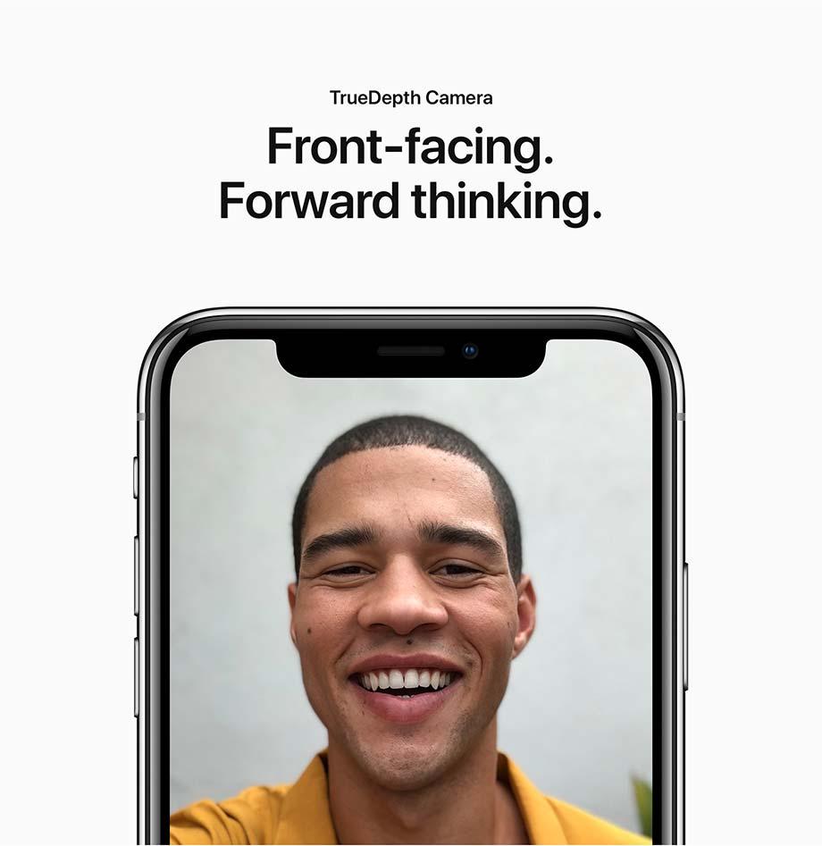 TrueDepth Camera - Front-facing Forward thinking