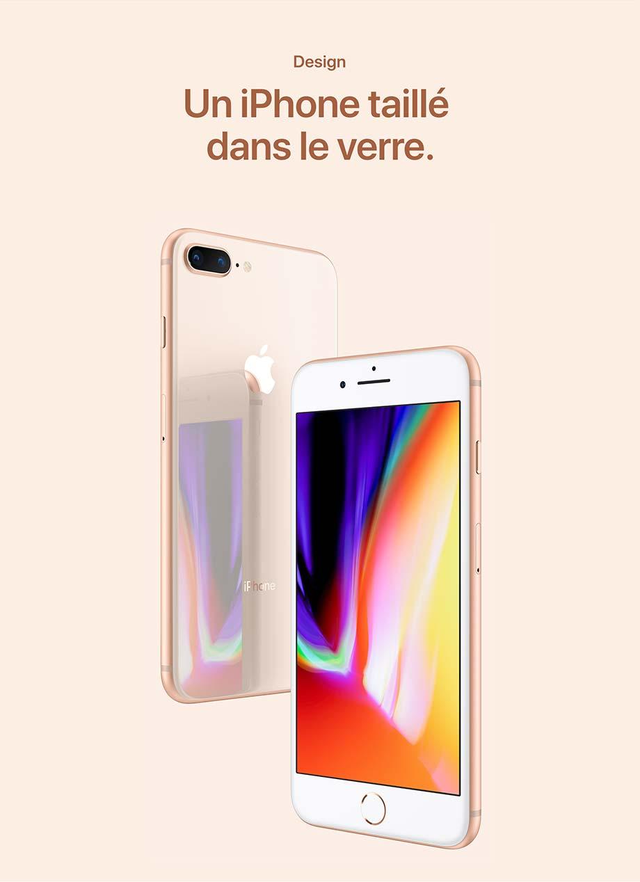Design - Un iPhone taillé dans le verre