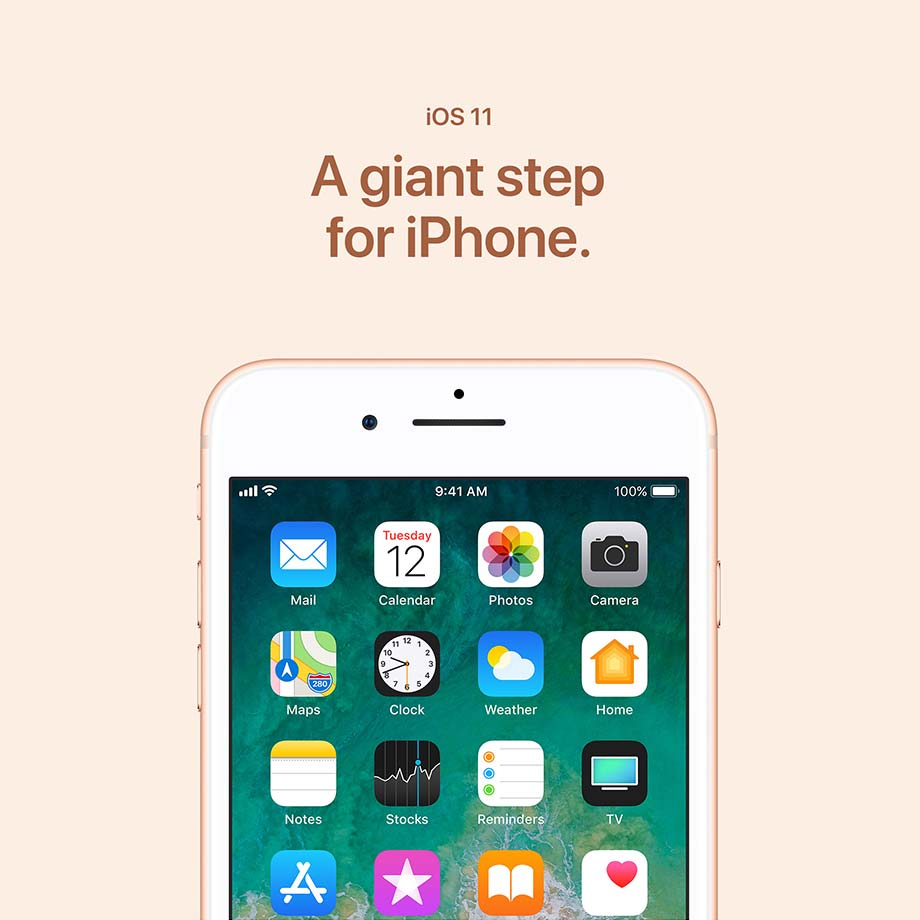 iOS 11 - A giant step for iPhone