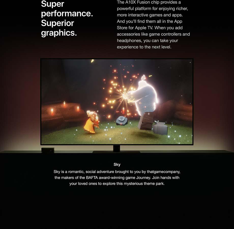 Super performance. Superior graphics.
