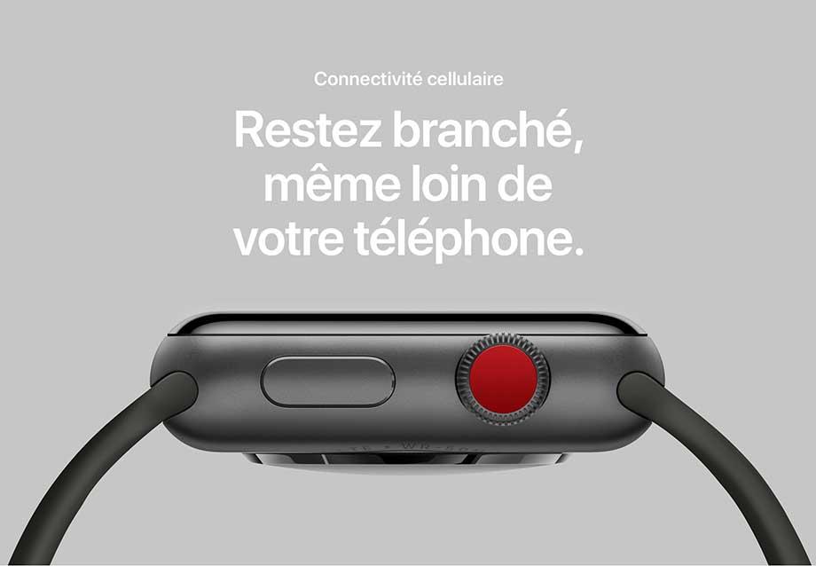 Connectivité cellulaire – Restez branché, même loin de votre téléphone