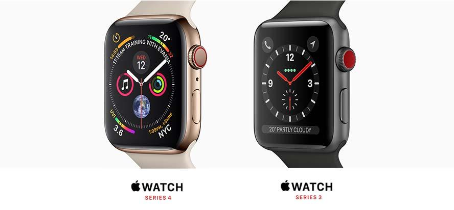 Apple Watch Series 4, Series 3, Nike+