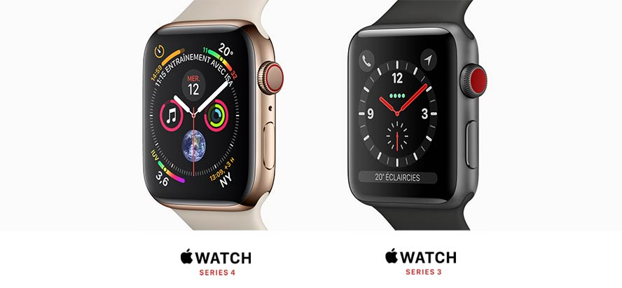 Apple Watch Series 4, Series 3, Nike+