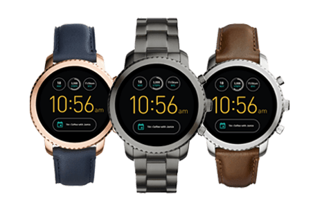 Q Explorist - Four watch styles available
