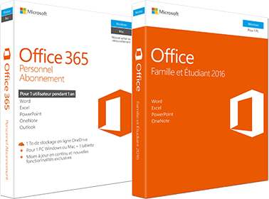 Office 365 Home and Student 2016 and Office 365 Personal Subscription