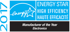 2017 Energy Star, Haute Efficacite, Manufacturer of the Year, Electronics