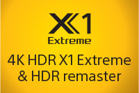 X1 4K HDR Processor X1 Extreme & HDR Remaster