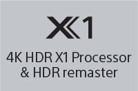 X1 4K HDR X1 Processor & HDR Remaster