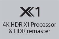 X1 4K HDR X1 Processor & HDR Remaster