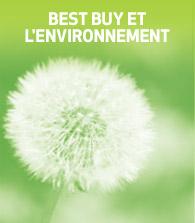 Best Buy et l'environnement