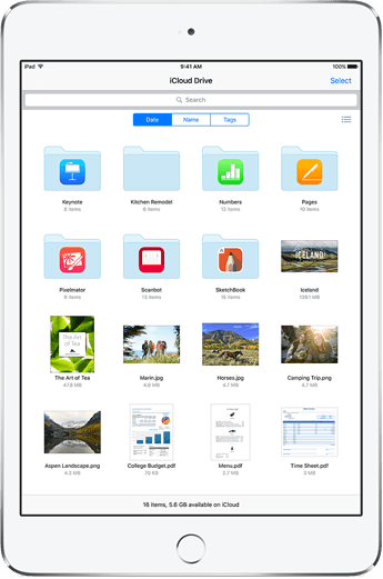 iCloud. Everything you need. Everywhere you need it.