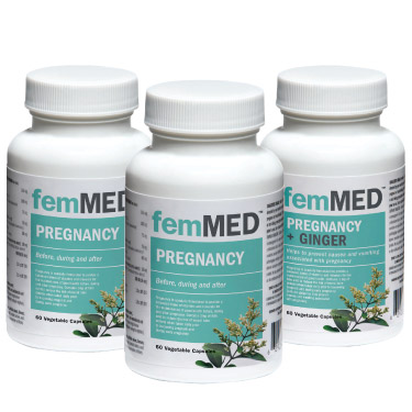 FemMED Pregnancy and Pregnancy+Ginger Supplement Combo