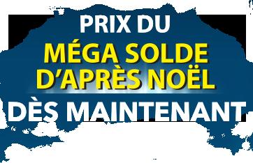 Prix du Méga solde d'après Noël dès maintenant