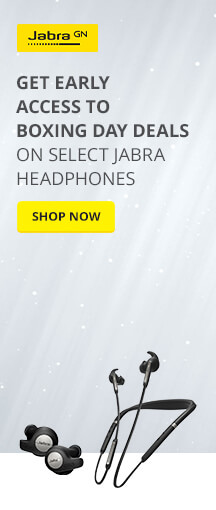 Get Early Access to Boxing Day DEALS on Select Jabra Headphones