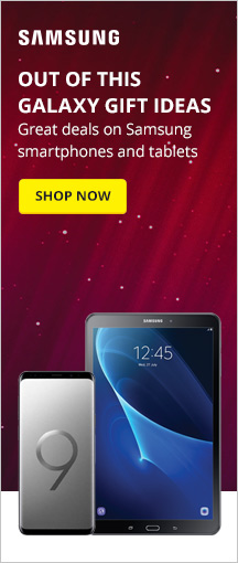 Great deals on Samsung smartphones and tablets