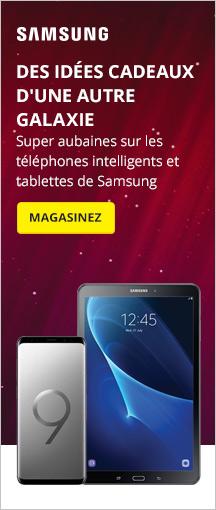 Super aubaines sur les téléphones intelligents et tablettes de Samsung