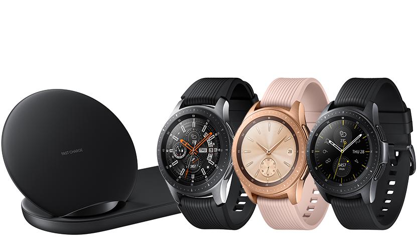 Samsung Galaxy Watch bundle with Samsung Charging Pad