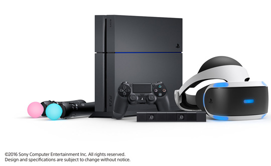 sony vr. just plug and play sony vr