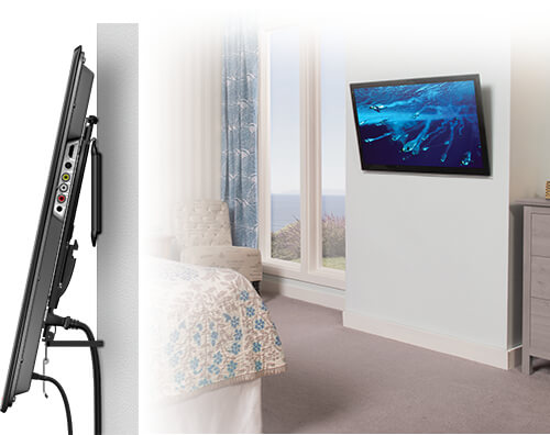 TILTING MOUNTS OFFER MANY VIEWING OPTIONS