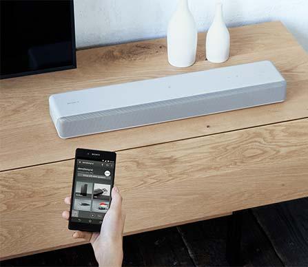 aper u de la barre de son mini de sony best buy canada. Black Bedroom Furniture Sets. Home Design Ideas