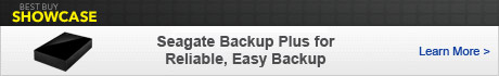 Seagate Backup Plus for Reliable, Easy Backup