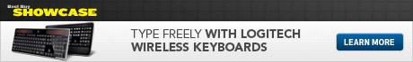 Type freely with Logitech Wireless Keyboards