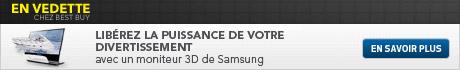 Lib�rez la puissance de votre divertissement avec un moniteur 3D de Samsung