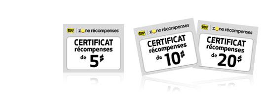 Comment échanger des certificats de récompense