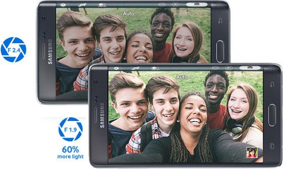 Samsung Galaxy Note Edge: Camera