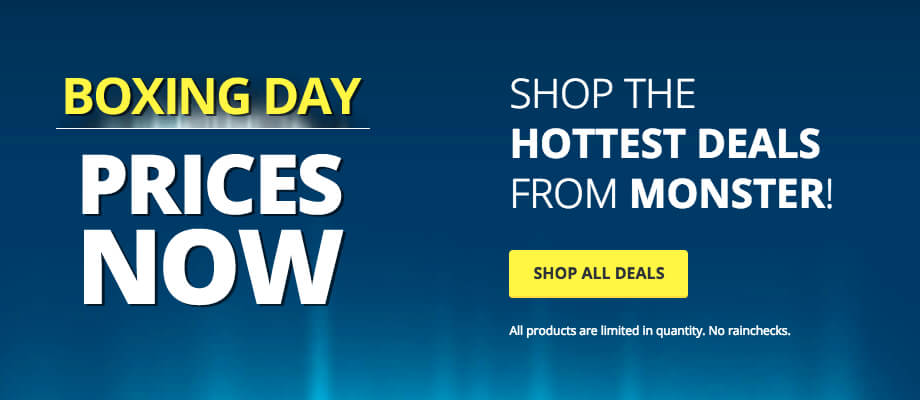 Shop the Hottest Deals from Monster