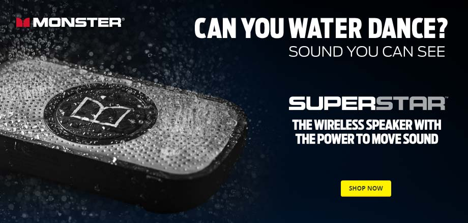 Superstar. The wireless speaker with the power to move sound. Shop Now.